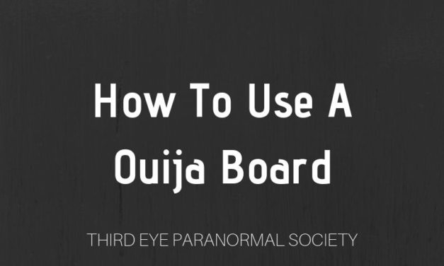 How To Use a Ouija Board (7 Easy Steps)